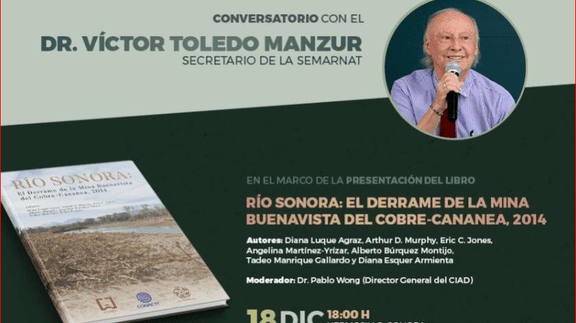 El evento se realizará el próximo miércoles 18 de diciembre en el auditorio del Centro de las Artes de la Universidad de Sonora a las 18:00 horas. El acceso será gratuito y abierto al público en general.