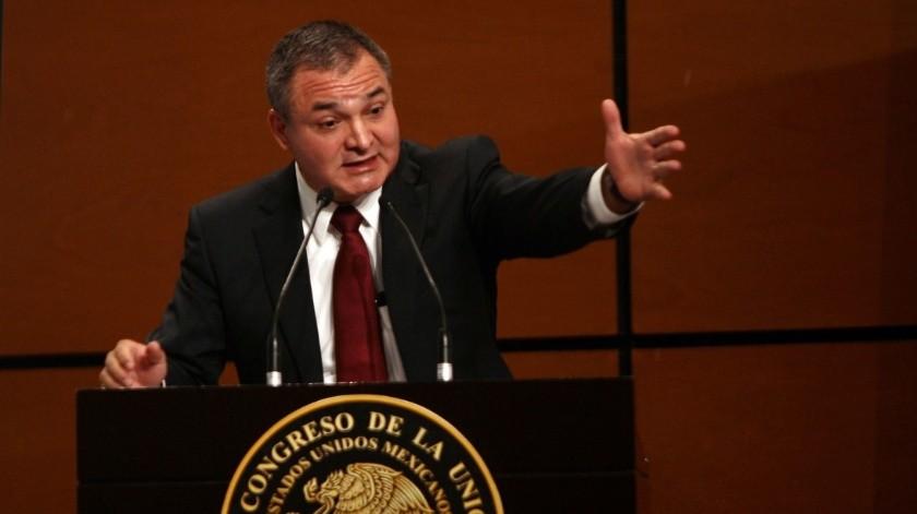 Genaro García Luna se encuentra detenido en Estados Unidos por recibir sobornos del Cártel de Sinaloa.(Archivo Reforma)