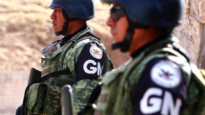 GN repele agresión en Buenavista; aseguran armas, cartuchos y equipo táctico