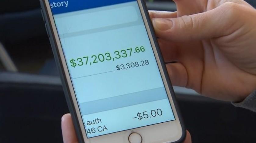Banco deposita por error a cuenta de mujer en Texas 37 millones de dolares(Tomada de la red)