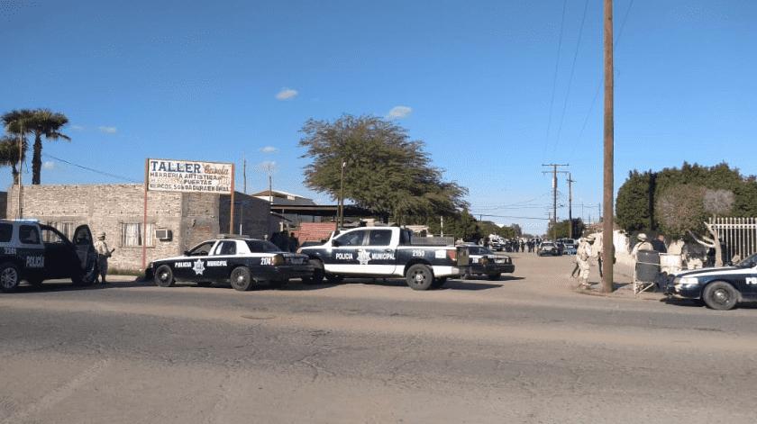 Deja 3 muertos tiroteo en SLRC entre policías y criminales(Cortesía)