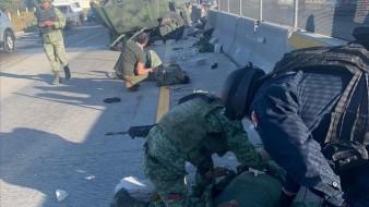 Vuelca camión de la Sedena en Puebla; hay 6 militares lesionados
