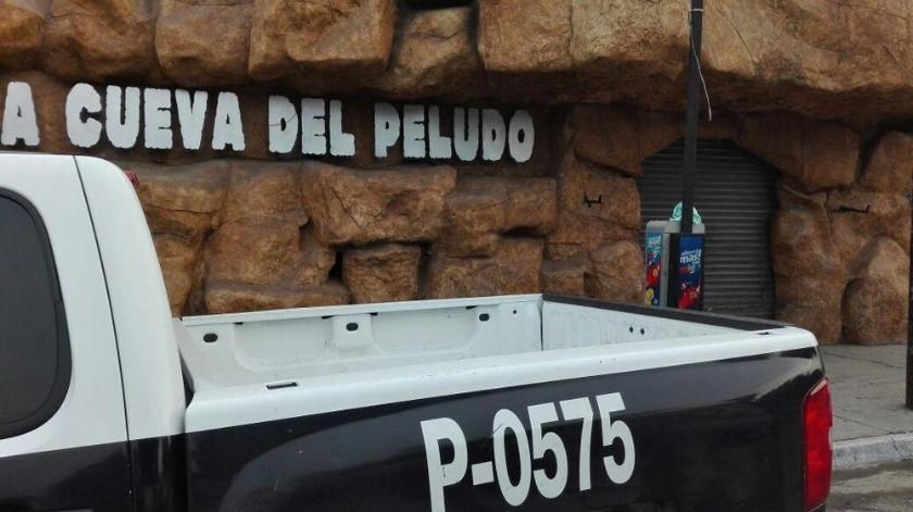 Uno de los antros clausurados por las autoridades es La Cueva del Peludo.
