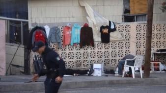 El ataque se registró mientras las víctimas vendían ropa.