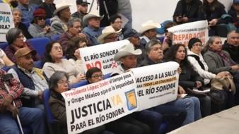 Atenderá Gobierno Federal reclamo de justicia por derrame en Río Sonora