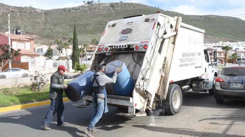 Derivado de la problemática de cerca de 10 años en la recolección de basura, la Unidad Regional de Protección Contra Riesgos Sanitarios en Ensenada, notificó al Gobierno de Ensenada que se cuenta con el riesgo de contaminar los afluentes de agua de la ciudad.(Cortesía)