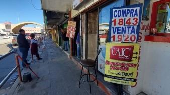 Dólar se cotiza en 19.15 en casas de cambio de Nogales