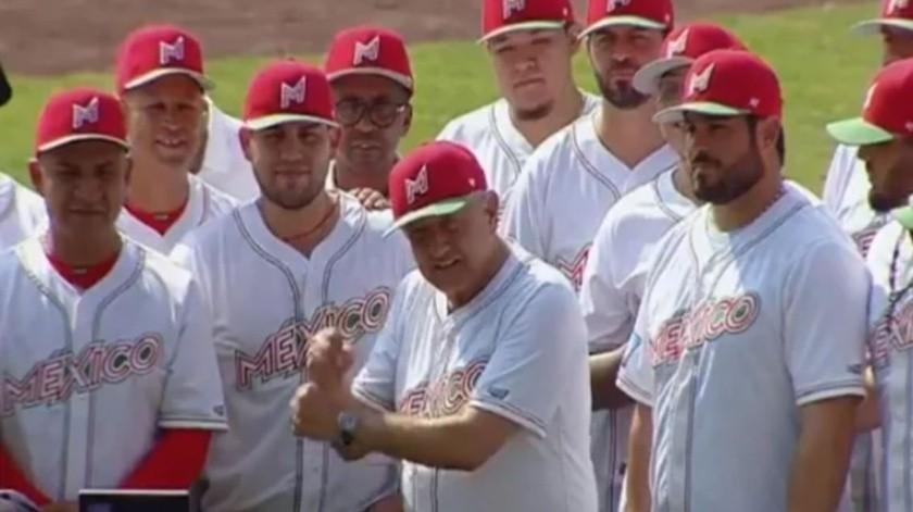"""AMLO invita a los jóvenes a """"macanear"""" por el beisbol(Especial)"""