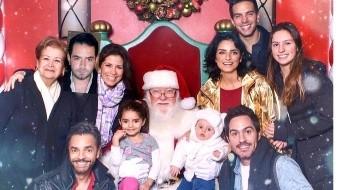 Eugenio Derbez adelanta Nochebuena a su familia
