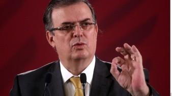 Marcelo Ebrard acepta renuncia de Ricardo Valero, embajador acusado de robar un libro