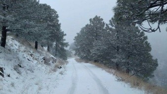 En sierras de Baja California y Sonora se pronostica nieve o aguanieve.