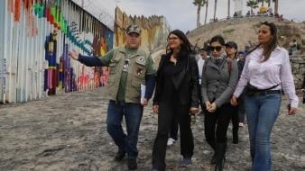 También se reunió con veteranos deportados.