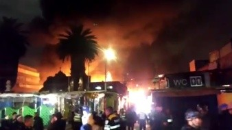 VIDEO: Se registra incendio en mercado de La Merced