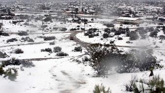 ¡Abríguese! Podría nevar en las próximas horas en el Norte, Noroeste y Oriente de Sonora
