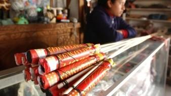 La multa por usar pirotecnia puede superar los 80 mil pesos.