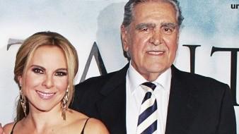 Don Erick del Castillo respalda a su hija en todo momento.