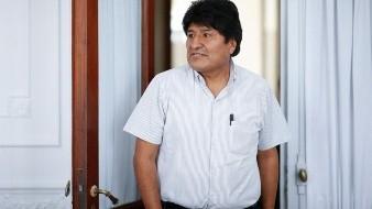 Evo Morales inicia campaña electoral desde Argentina