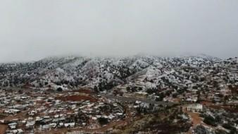 Se pronostica que la Quinta Tormenta Invernal de la temporada sobre el Noroeste de México provoque lluvias y caída de nieve y agua nieve.