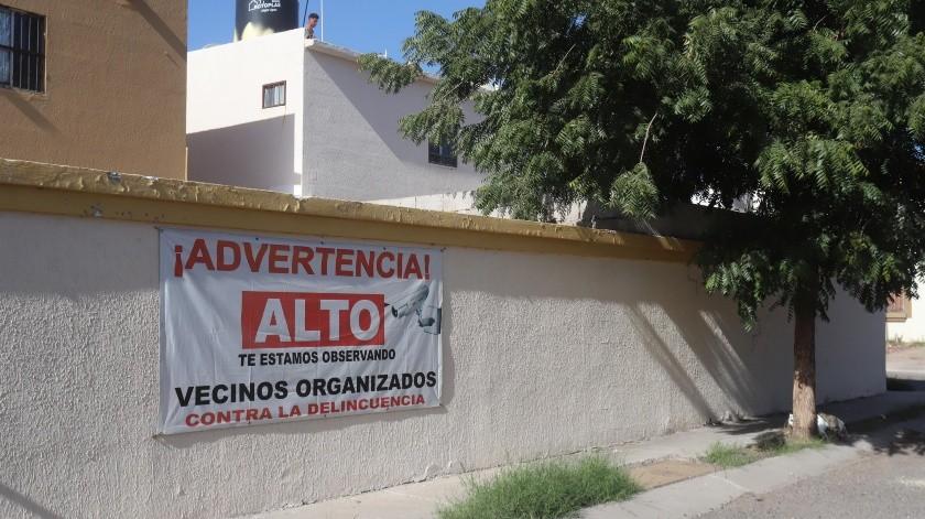 Habitantes del fraccionamiento Villa Bonita denuncian que la zona se ha vuelto insegura y piden mayor presencia policiaca.(Teodoro Borbón)