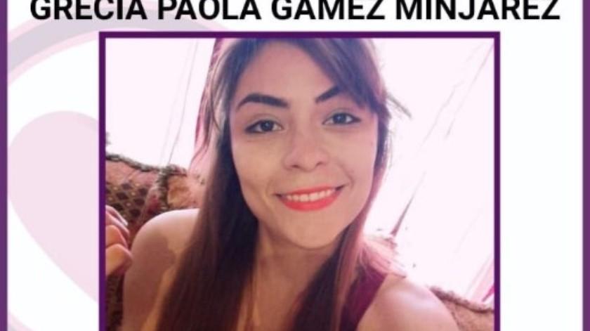 Grecia Paola fue vista por última vez el pasado 26 de diciembre.