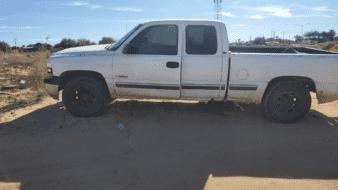 Camioneta robada en Mexicali es hallada en el Golfo