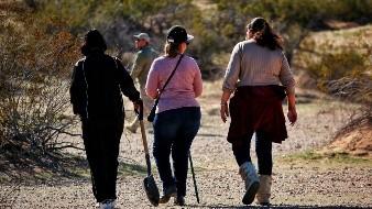 Madres empiezan el año buscando a sus desaparecidos