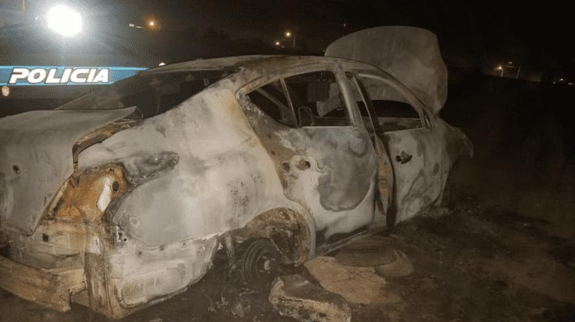 Encuentran auto de empleado municipal asesinado(Cortesía)