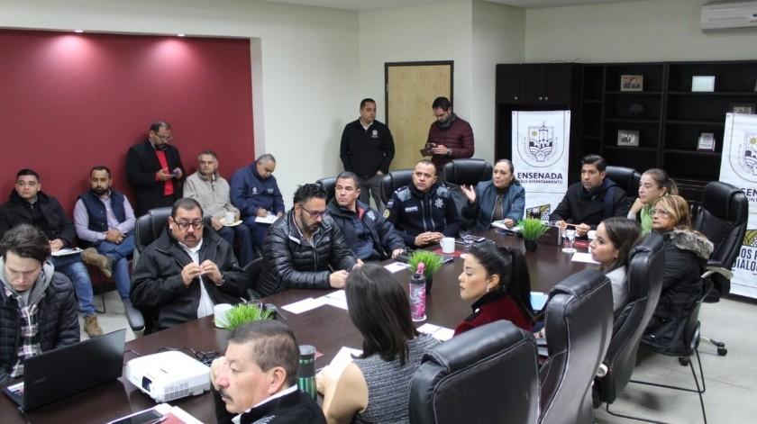 Se creó una mesa interdisciplinaria denominada Comité Municipal para el Ordenamiento de la Zona Norte, para atender y dar solución a las demandas de los residentes de El Sauzal(Cortesía)