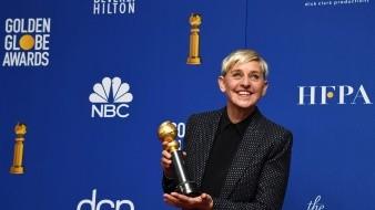 DeGeneres, que estuvo hoy acompañada en los Globos de Oro por su esposa Portia de Ross.