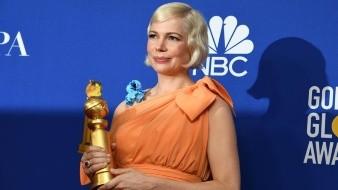Michelle Williams, que ganó este domingo el Globo de Oro a la mejor actriz de una serie limitada o película para televisión por