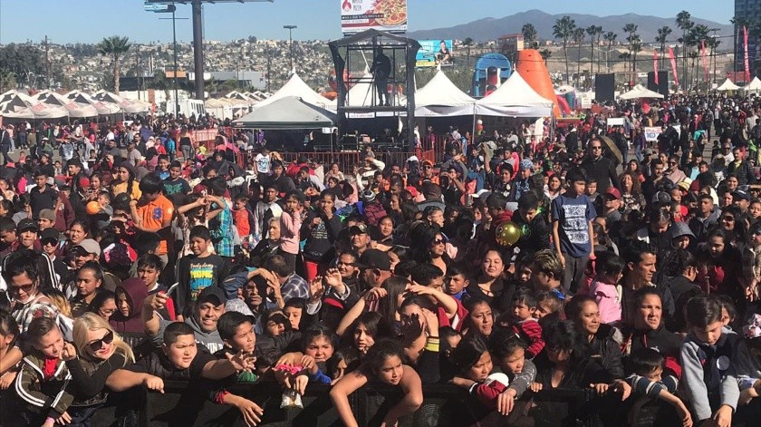 El evento se realiza en el Hipódromo Caliente.(Khennia Reyes)