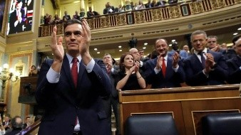 Eligen a Pedro Sánchez como presidente del Gobierno de España