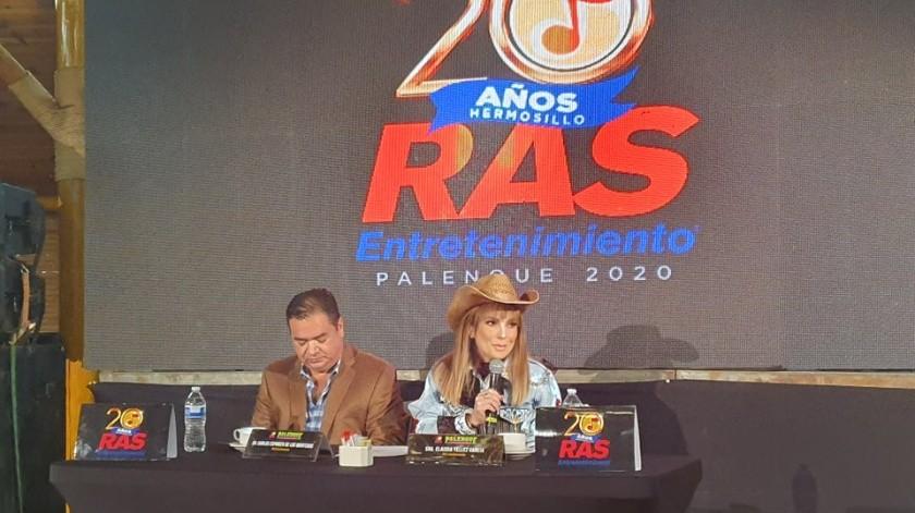 Se dio a conocer este martes a los artistas que se presentarán en el Palenque de la ExpoGan 2020.
