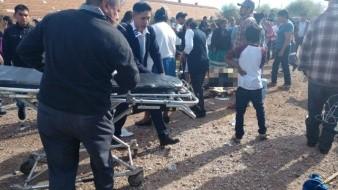 VIDEO: Tren arrolla autobús de jornaleros en Vícam; reportan varios muertos