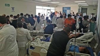 HGO ha recibido a 32 lesionados por accidente en Vícam