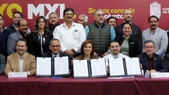 Firman acuerdo por el medio ambiente