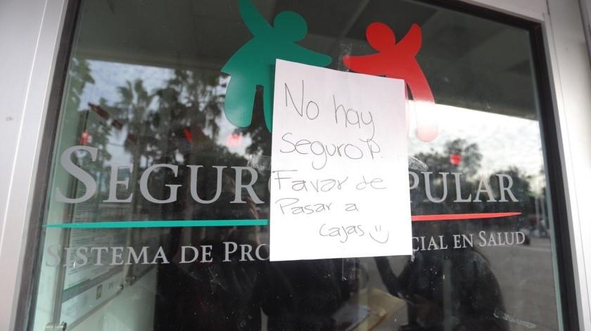 El Seguro Popular dejó de operar y el gobierno de AMLO aseguró que el Instituto del Bienestar ofrecería atención gratuita para quienes no tienen seguridad social.(Anahí Velásquez)