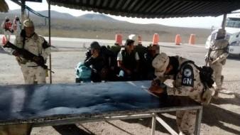 Detienen dos autobuses en Sonora con 108 migrantes centroamericanos