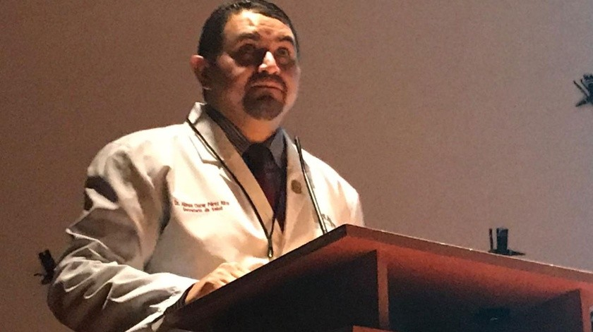 Alonso Pérez Rico, secretario de Salud en Baja California.(Khennia Reyes)