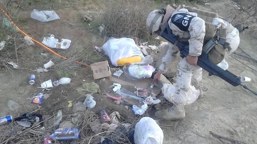 Asegura personal militar toma clandestina en Tecate