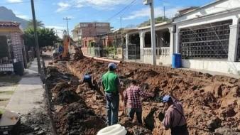 Protestan guaymenses por una obra en calle donde vive alcaldesa