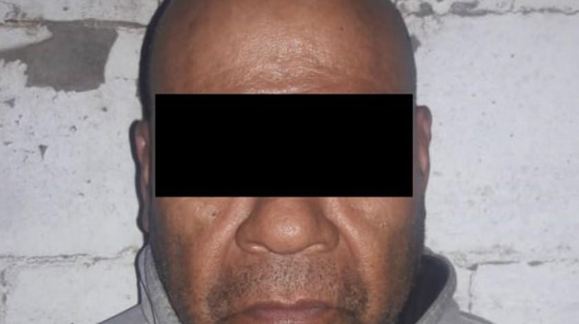 """El detenido está identificado como Pascual """"N"""", de 57 años.(Cortesía)"""