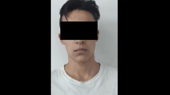 Cae joven relacionado a varios robos violentos