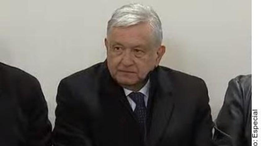 Andrés Manuel López Obrador, presidente de México.(AGENCIA REFORMA)