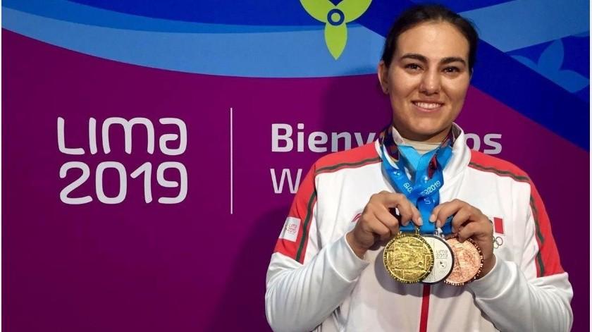 Entran a casa de Alejandra Valencia y roban su playera y arco olímpico(GH)