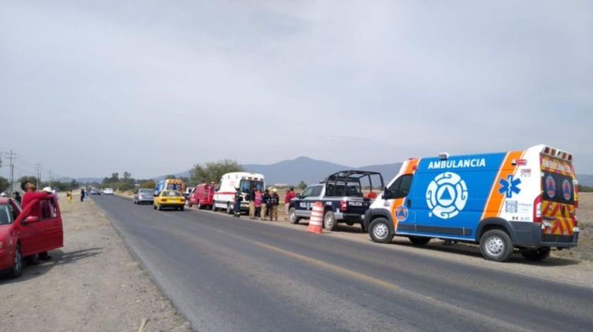 Neblina causa carambola en Querétaro; hay un muerto y 18 lesionados(Twitter @SSPyTMElMarques)