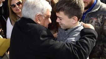 Asegura López Obrador que quisiera estar con todos los que sufren por la violencia