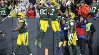 Packers eliminaron a un equipo que había logrado una foja de 8-1 como visitante.