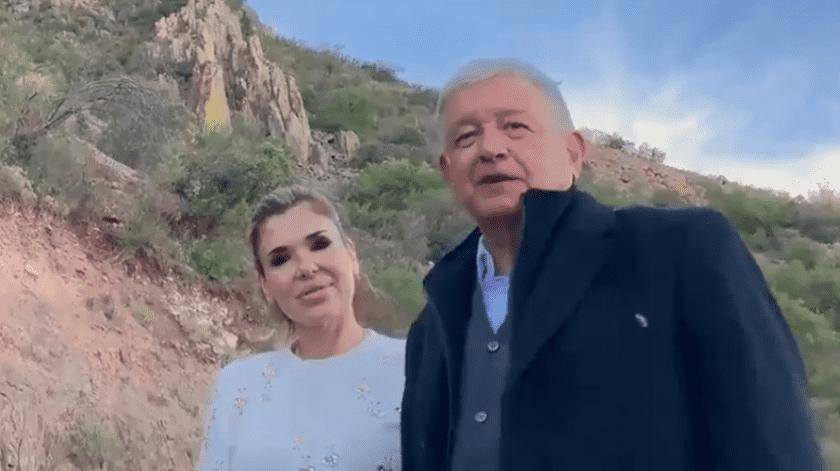 La gobernadora, Claudia Pavlovich, acompañó al presidente López Obrado durante su sexta visita al Estado.