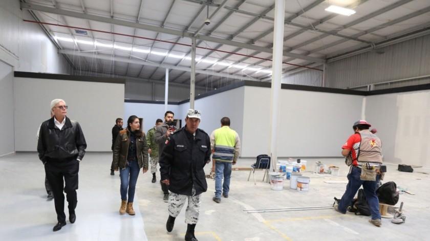 """El Gobernador informó que el día 22, se dará el """"banderazo"""" al nuevo cuartel de la corporación ubicado en la Mesa de Otay.(Cortesía)"""